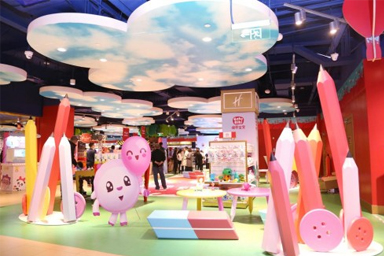 BabyRiki Toys Debut at Hamley's Flagship Store in Beijing